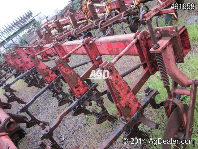 International 153 6 row Row Crop Cultivator